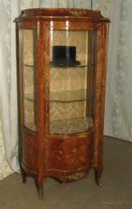 French Inlaid And Ormolu Mounted Vitrine   Antiques Atlas