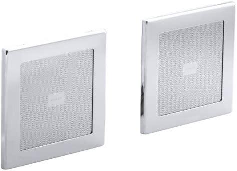 Kohlers Soundtile In Shower Speakers Make Singing In The Shower More by Kohler K 8033 Cp Soundtile Speakers Pair Of Speakers