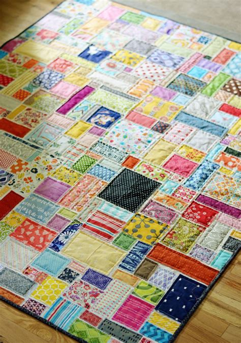 Scrap Quilt Patterns For Beginners by Scrappy Soccer Quilt The Studio By April