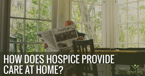 hospice care at home images
