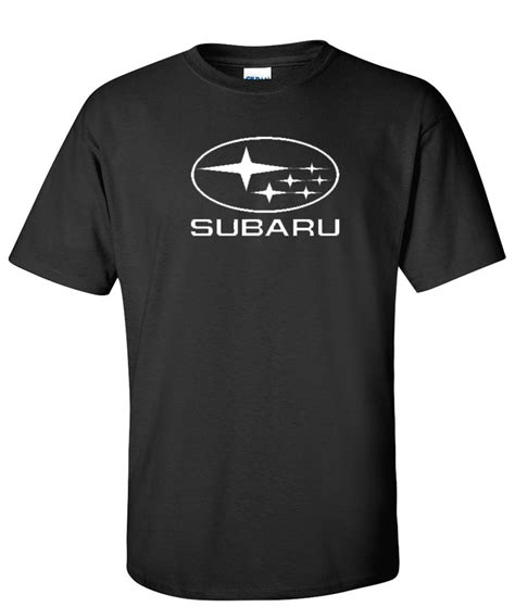 black subaru logo subaru logo graphic t shirt supergraphictees
