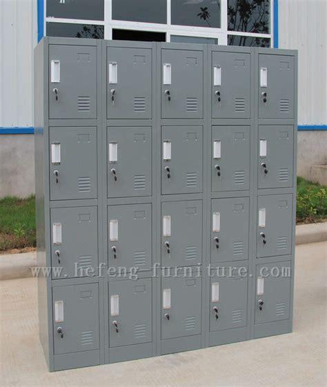 Lemari Loker staf logam penyimpanan lemari 20 pintu loker furniture