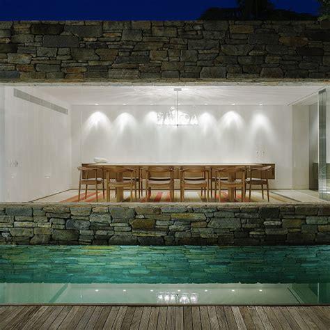 luxury cave house  architect marcio kogan modern house
