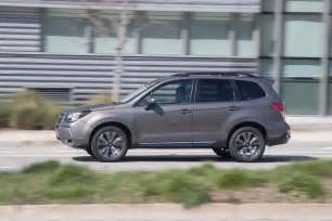 Subaru Forester 2 0xt 2017 Subaru Forester 2 0xt Touring Test Review