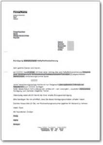 Schreiben Haftpflichtversicherung Muster K 252 Ndigung Haftpflichtversicherung At Musterbrief