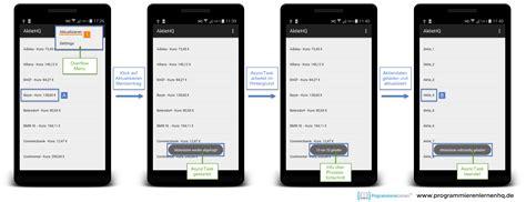 android asynctask android tutorial hintergrundberechnungen mit asynctask