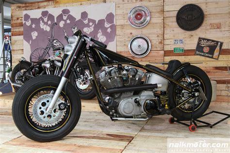garage cafe kemayoran custom bike show dari indonesian builder di iims 2015