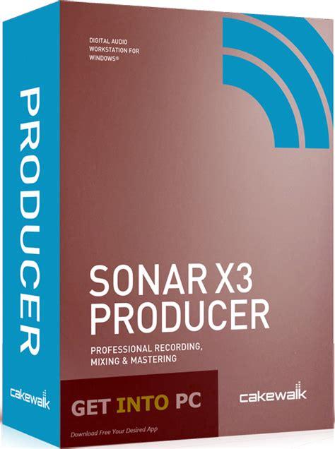 Cakewalk Sonar X3 Producer Win sonar x3 producer edition free