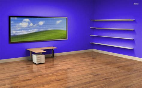 wallpaper blank windows 7 desk and shelves desktop wallpaper wallpapersafari