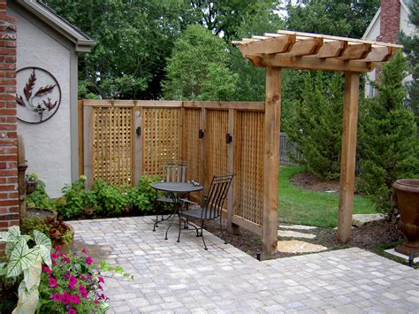 designing lovely arbors pergolas for your kansas city home