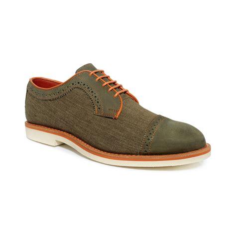 shoes baton allen edmonds baton oxfords in green for olive