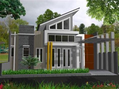 contoh rumah minimalis modern terbaru gambar gambar desain model rumah minimalis
