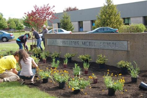 landscaping design for forest grove middle school