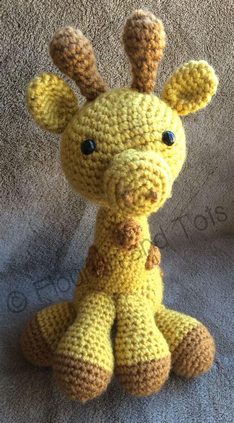 pattern for amigurumi giraffe giraffe amigurumi free pattern flourish tots