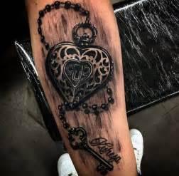 50 inspiring lock and key tattoos art and design