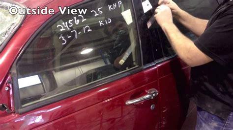 How To Open Locked Car Door by How To Unlock Car Door Using A Plastic When Locked
