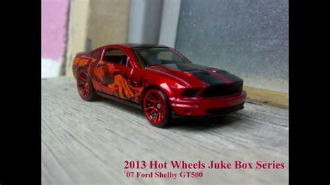 Hotwheels 07 Ford Mustang Merah 2012 wheel jukebox series 07 ford mustang gt500