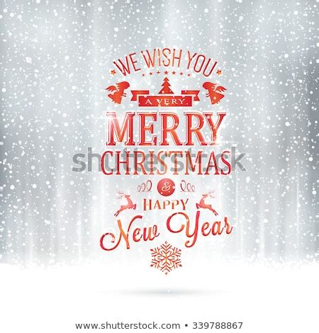 red wishing   merry christmas stock vector  shutterstock