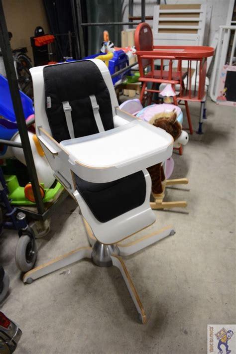 chaise haute bébé design chaise haute enfant design moderne troc en stock
