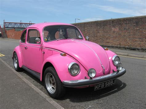 pink volkswagen beetle hd wallpaper cars wallpapers