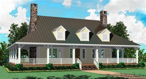Farmhouse House Plans With Wrap Around Porch by 2 Story Cottage Style House Plans 3d House Style Design
