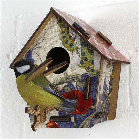 Decorative Bird House by Decorative Bird House Poppy Seed By Nest