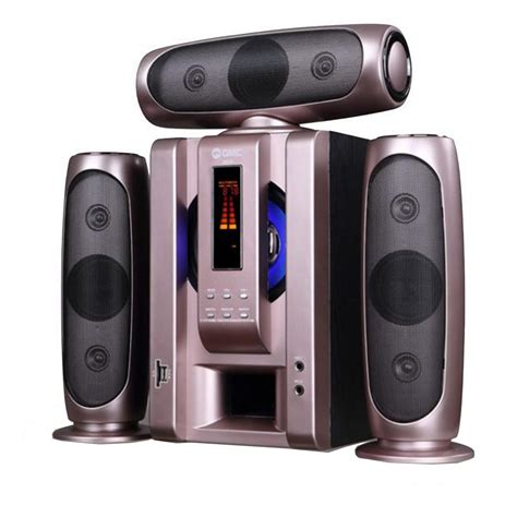 Speaker Aktif Gmc Bluetooth gmc multimedia aktif speaker 885a bluetooth gold elevenia
