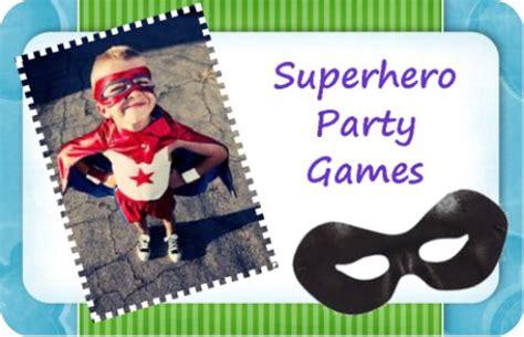 superhero themed games top superhero party games and superhero activities