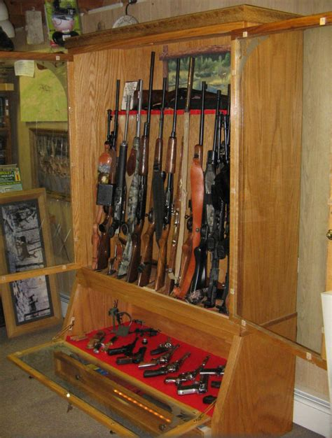diy wood gun cabinets plans diy    doll bed