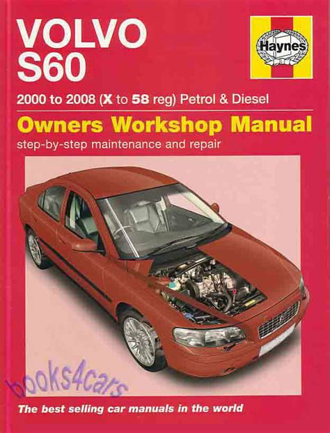 car maintenance manuals 2008 volvo v70 user handbook volvo s60 shop manual service repair book haynes owners workshop chilton 01 08 ebay