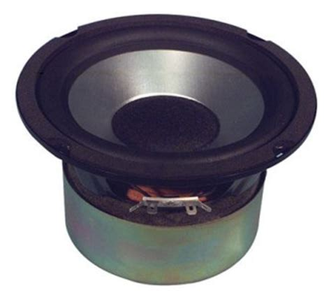 Speaker Subwoofer 5 Inch new 6 5 quot subwoofer speaker audio 6 1 2 bass shielded 8 ohm woofer six half inch ebay