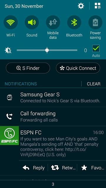 normal  call forwarding    notification center android forums