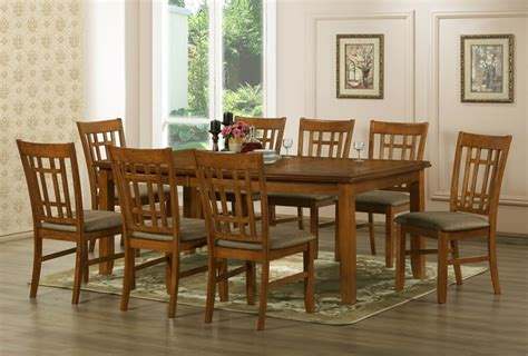 baxton studios megan 7 dining room set table and 6