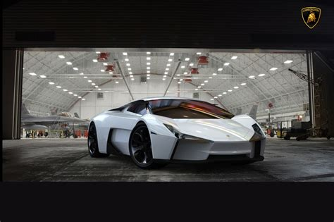 lamborghini cnossus supercar concept version lamborghini indomable study merges gallardo and f 22