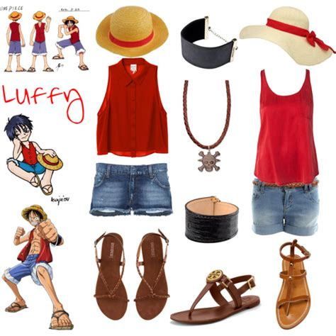 Casual Cosplay   Luffy   One Piece   Polyvore
