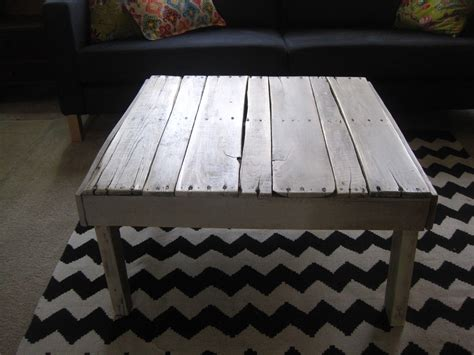 How To Make A Coffee Table From Pallets Pallet Coffee Table Fabulously Flawed