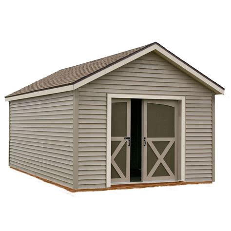 diy shed kit home depot best barns south dakota 12 ft x 12 ft prepped for vinyl