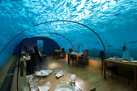 maldives ithaa underwater restaurant overwater villa brief closure of conrad maldives rangali island lets go