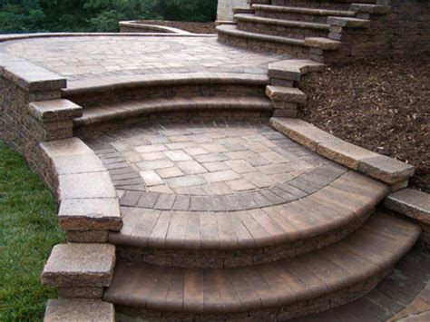 Brick Stairs Design Brick Paver Patio Designs Brick Paver Step Designs Brick Front Steps Interior Designs Artflyz