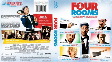 4 rooms cast four rooms custom covers four rooms bluray dvd covers