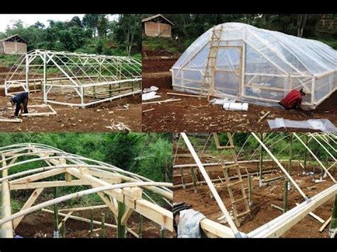 membuat greenhouse untuk hidroponik cara mudah dan murah membuat green house ikan dan tanaman