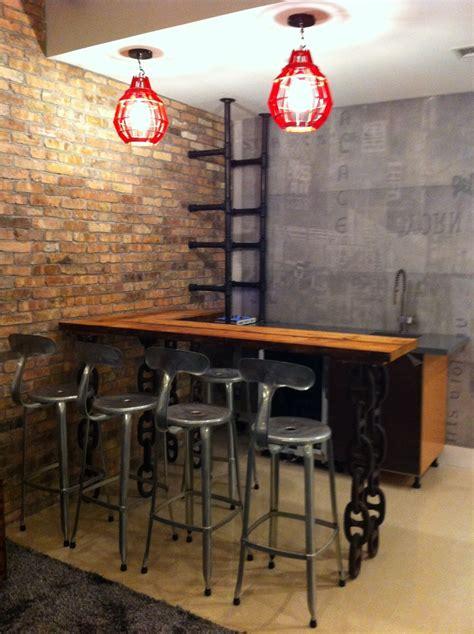 Home Bar Design Concepts | industrial bar design concept 2 design project our