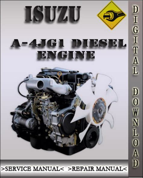 small engine repair manuals free download 1992 isuzu impulse electronic valve timing isuzu a 4jg1 industrial diesel engine factory service repair manual industrial diesel engine