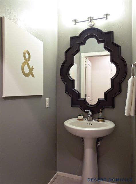 mirrors for powder room 20 practical pretty powder room decorating ideas