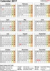 Calendar Printable 2017 Uk Calendar 2017 Uk 16 Free Printable Pdf Templates