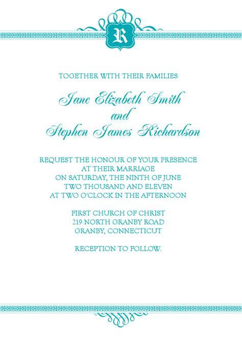 basic invitation template wedding invitation wording wedding invitation templates