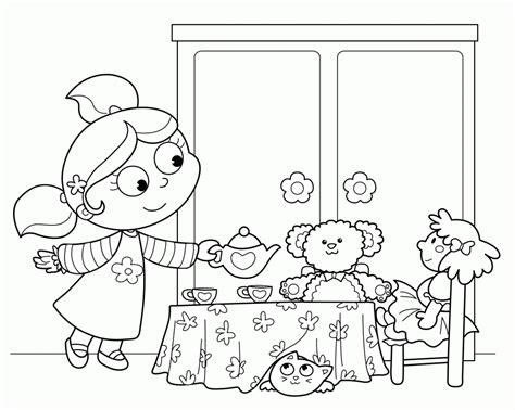 tea coloring pages tea coloring pages coloring home