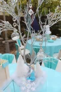 Frozen Centerpieces Frozen Birthday Party Ideas Kids Party Tables Frozen And Centerpieces