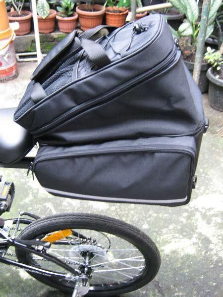 Tas Pannier Sepeda 1502 pannier bag home