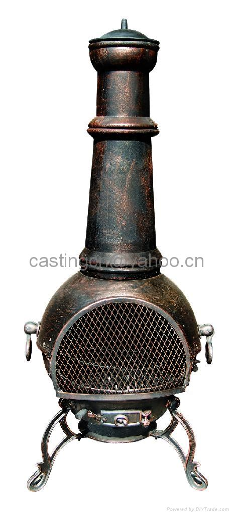 Chiminea Woodies by Cast Iron Wood Burning Chiminea Cast Iron Chiminea
